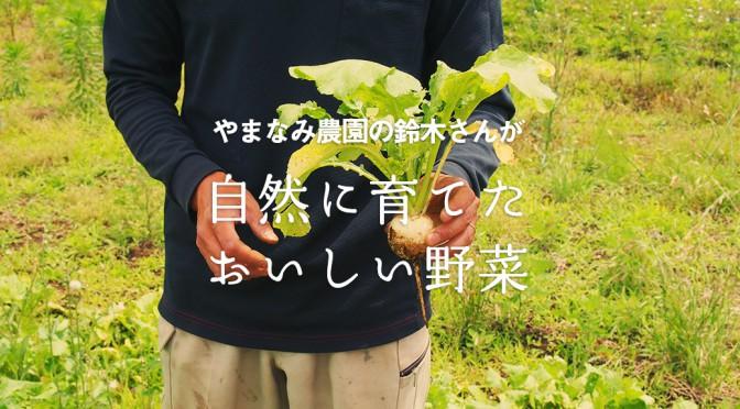 突撃、地産地消レポート4【やまなみ農園】